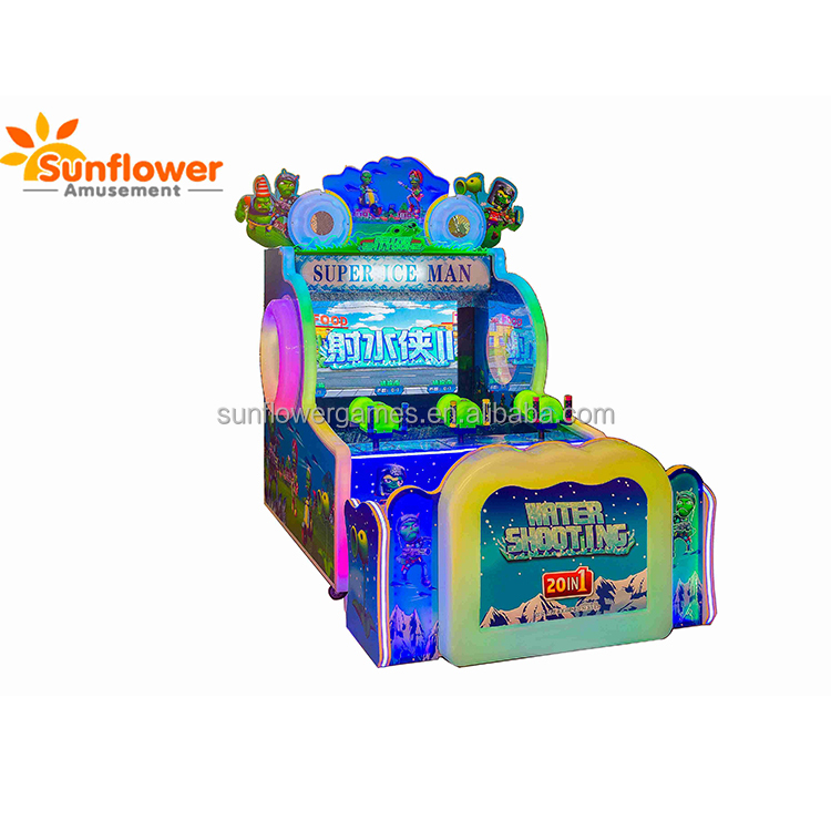 Hot Selling 3D Plants vs Zombies 2P/3P Water Gun Shooting Video <strong>Games</strong> For Kids Electronic Amusement <strong>Game</strong> for Sale