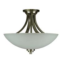 3 Light Ceiling Flushmount Light (lampara De Techo) In3 White ...