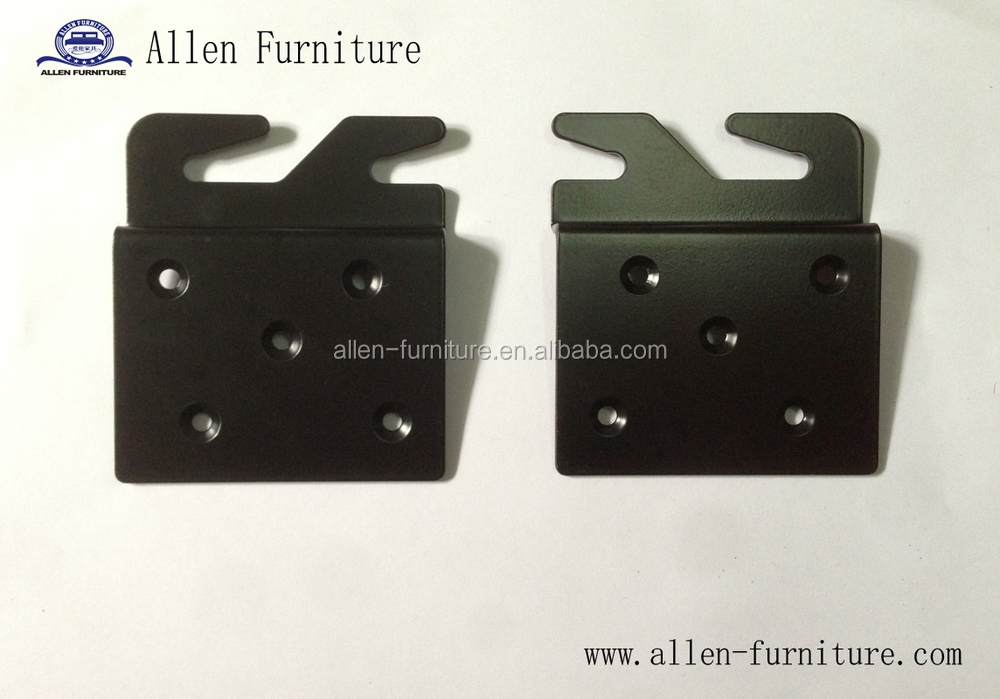 Metal Bed Hook Plates For Wooden Bed Rail Restoration