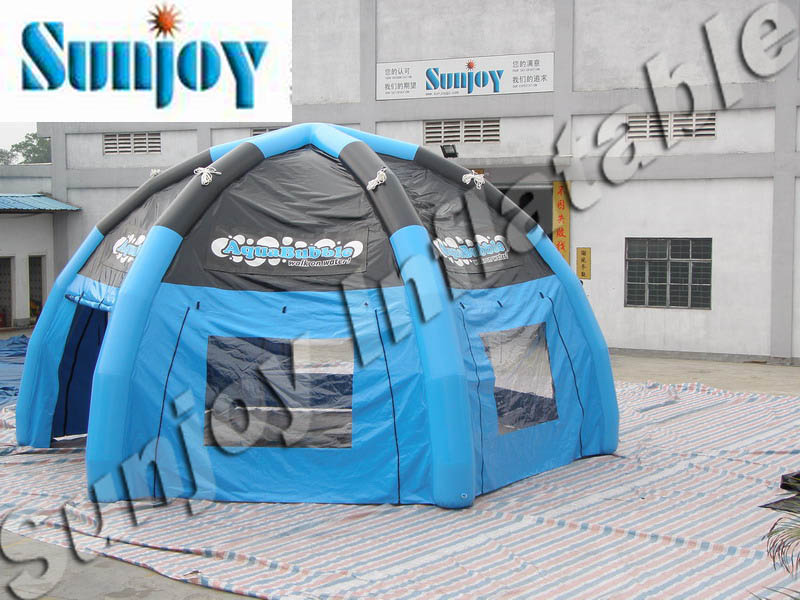 Custom size waterproof cover sealed small inflatable dome
