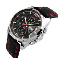 Skmei Genuine Leather Mens Watches For Small Wrists For Big Boys Sport Luxury