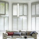 Louvered Window Blind PVC Shutter Components