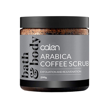 Body Scrub Exfoliating Anti Cellulite and Stretch Mark Treatment Organic Coffee Scrub