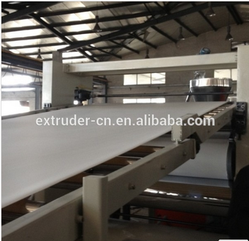 pvc flex banner sheet making machine plastic making machine