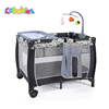 Hot sell high quality large portable travel playard playpen for babies