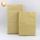 kraft paper laminated pp woven sandwich bag for logistic shipping bag and outer craft paper fish packing bag