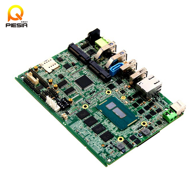 3.5 inch Embedded mothertherboard Intel HD Graphics 4400 with operate Windows7