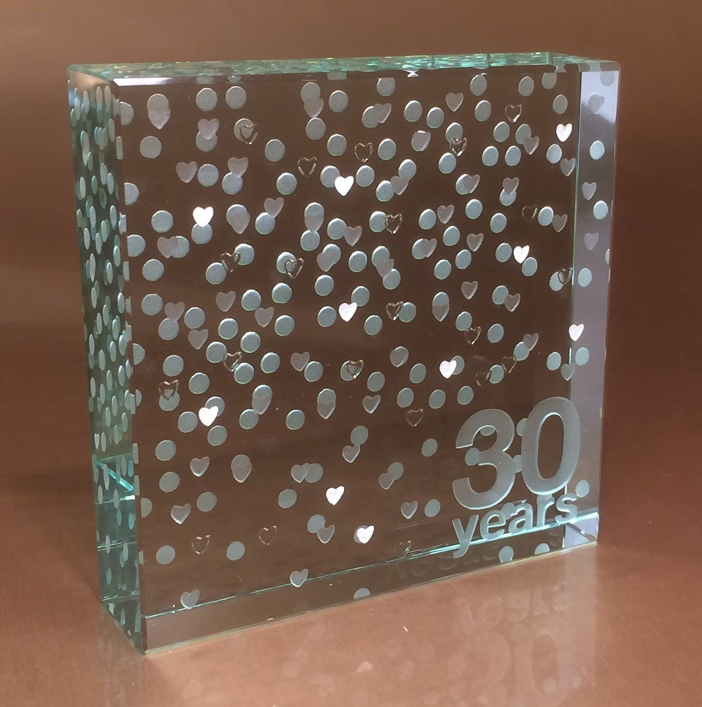 Spaceform Paperweight 30Th Pearl Wedding Anniversary Gifts Quality Gift