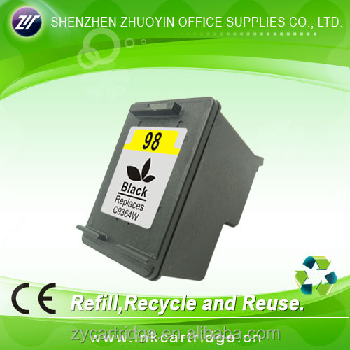 OEM supplier remanufactured ink cartridge for hp 98 ink cartridge