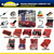 CALIBRE Auto Repair Tools 3PC Stretch Belt Installation Tool Stretchy Belt Fitting Kit Dismounting Stretch Belts Fitted