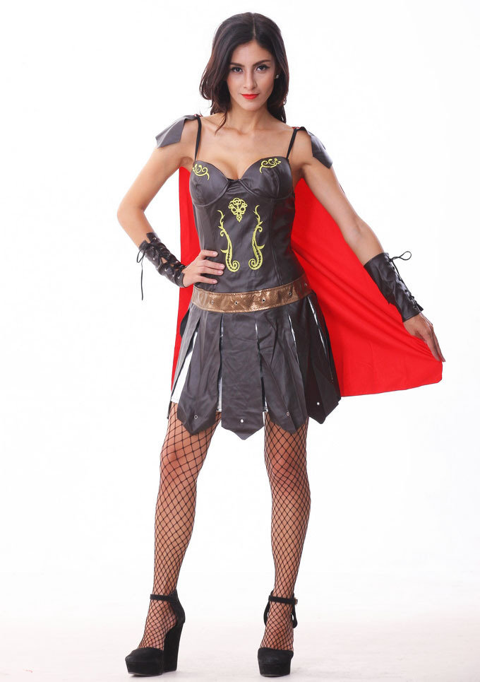 Get Quotations · New 2015 Women s Adult Sexy Greek Goddess Costume skirt  Halloween Roleplay Costumes Ares costumes Spain gladiator 8d4eb79a3561