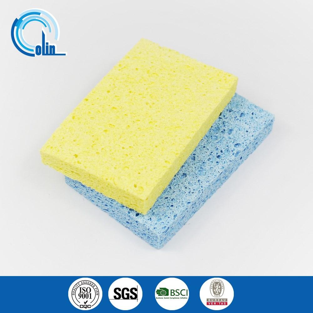 Biodegradable Disposable Kitchen/dish Cellulose Sponge Cleaner ...