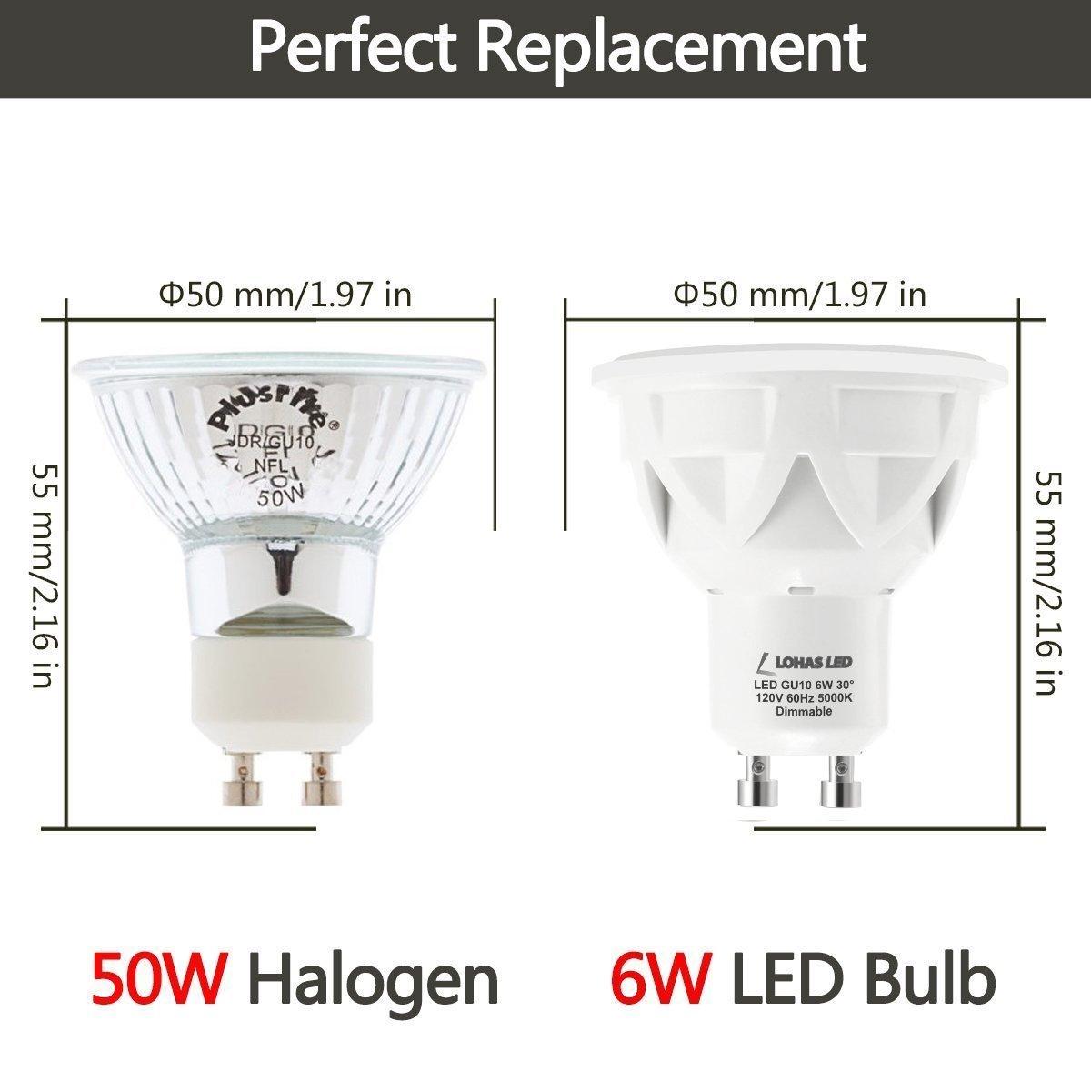 가정 점화를 위한 6W Dimmable GU10 Led 스포트라이트 전구