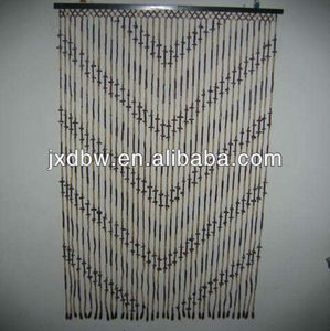 Chinese bamboo blinds hanging bamboo beaded door curtain