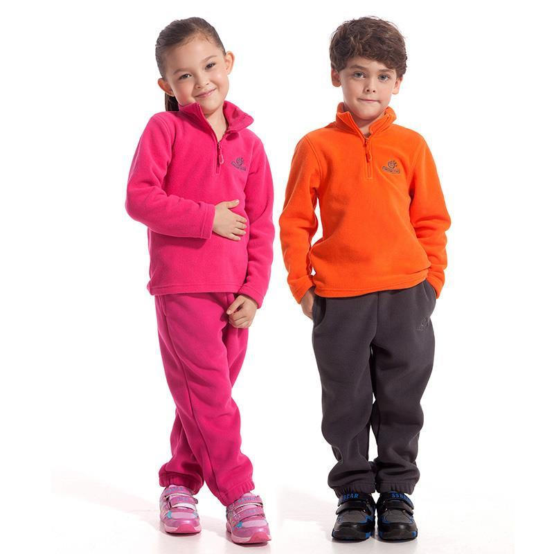 NEW brand casual Outdoor sport running polar fleece Sweaters windproof thermal pullovers autumn winter for children