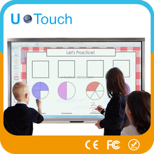 Educational equipment 65 inch wall mounted touch screen computer