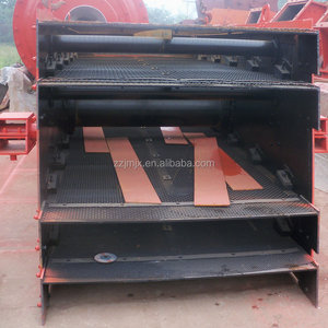 Mining used vibrating grizzly screen