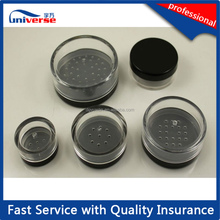 ODM cosmetic loose powder jar plastic injection products