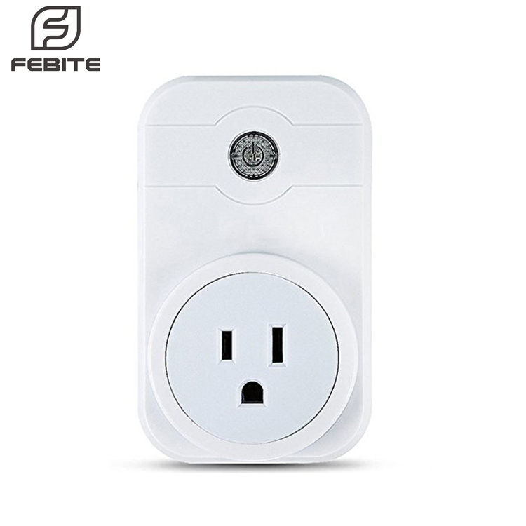 Smart US Plug Wi-Fi Enabled Mini Smart Socket Works with Amazon Alexa Google Home, Remote Control Outlet with Timing Function