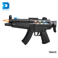 Wholesale plastic B/O toy electric laser gun with light and music
