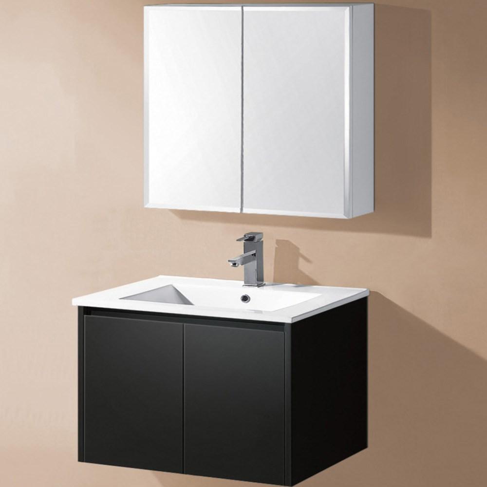 Amazon hot sale wall hung bathroom vanity simple bathroom cabinet on sale