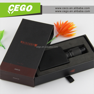 OEM Printing!!! Most popular glass dropper bottle 30ml eliquid package box rectangle with gift box package