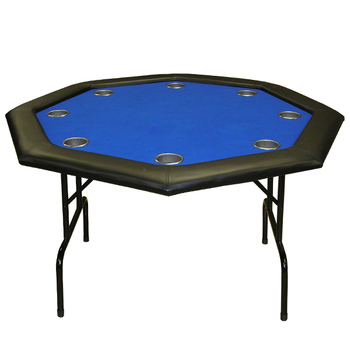 48 Inch Cheap Custom Design Octagonal Casino Poker Table With Folding Leg