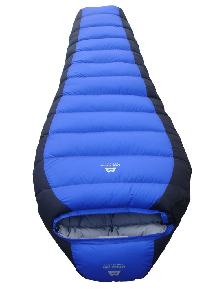 -25 Degree Sleeping Bag Mummy Bag 2.3 KG White Dock Down Winter Thickening Bag Send by Fedex !