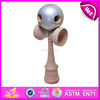 High quality wooden Kendama,new fashion kids kendama,solid wood toy kendama for wholesale