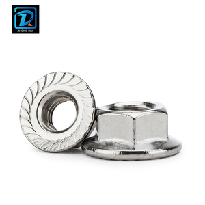 DIN 6923 Stainless Steel Serrated Flange Lock Nuts