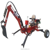 CE approved best selling atv backhoe excavator