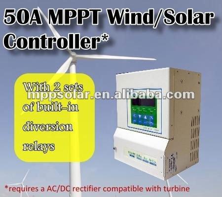 50a 12v 24v 48v Mppt Solar Charge Controller Hybrid Solar Charge ...