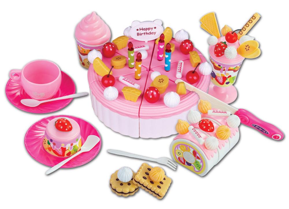 speelgoed taart plastic