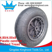 400x100mm Plastic Centre Pneumatic Wheel