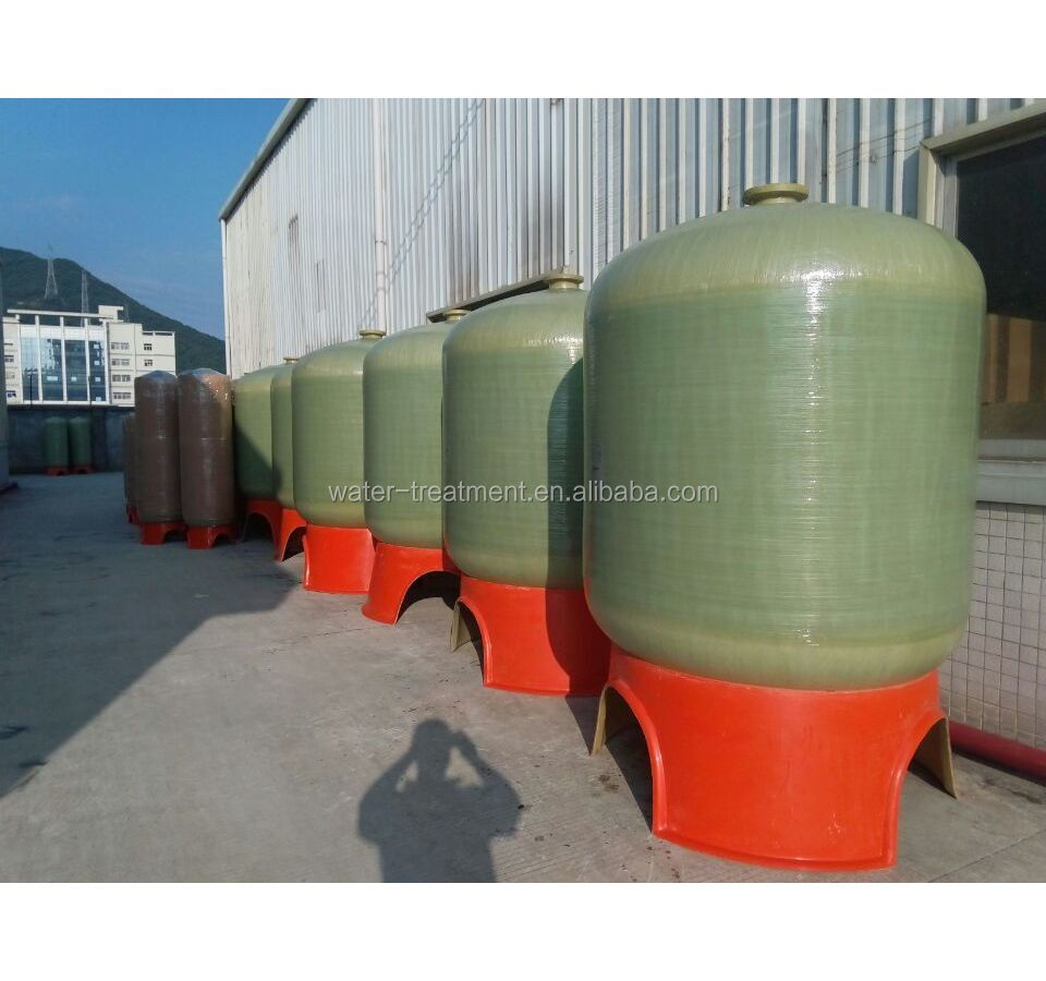 Sand filter for removing particles/ FRP vessels in different size