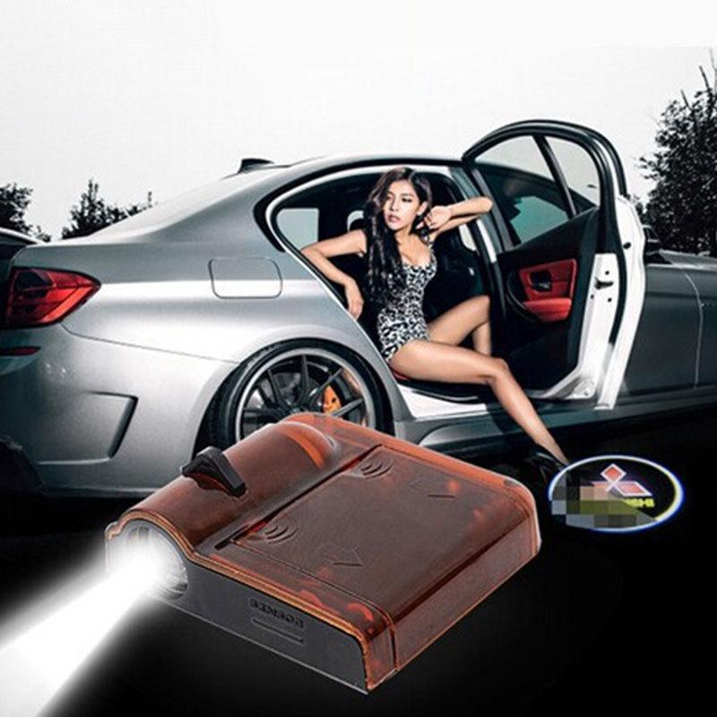 Горячая распродажа багажнике огни автомобиль индивидуальность беспроводного приема радий стреляет из светодиодов индукционная двери лампы