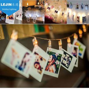 New Design Xmas New Years Party Decoration 20 Led Photo Clips String Lights For Hanging