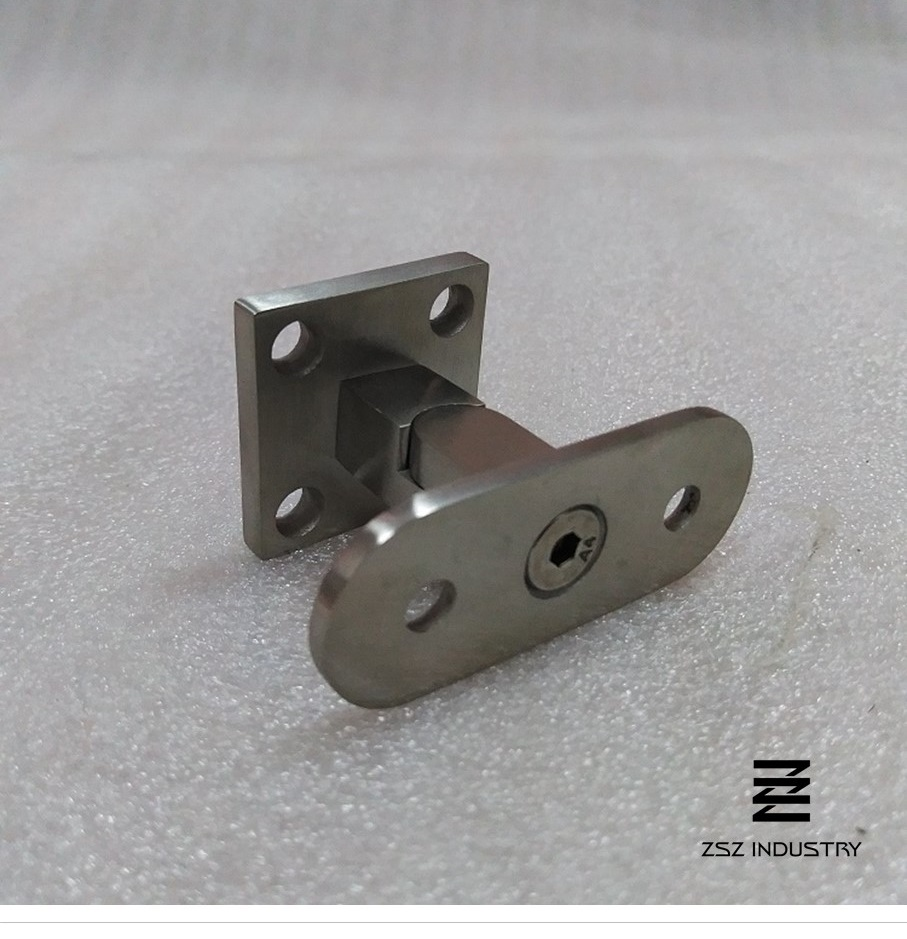 Stainless Steel Newel Mount Handrail Bracket Hf17 4001