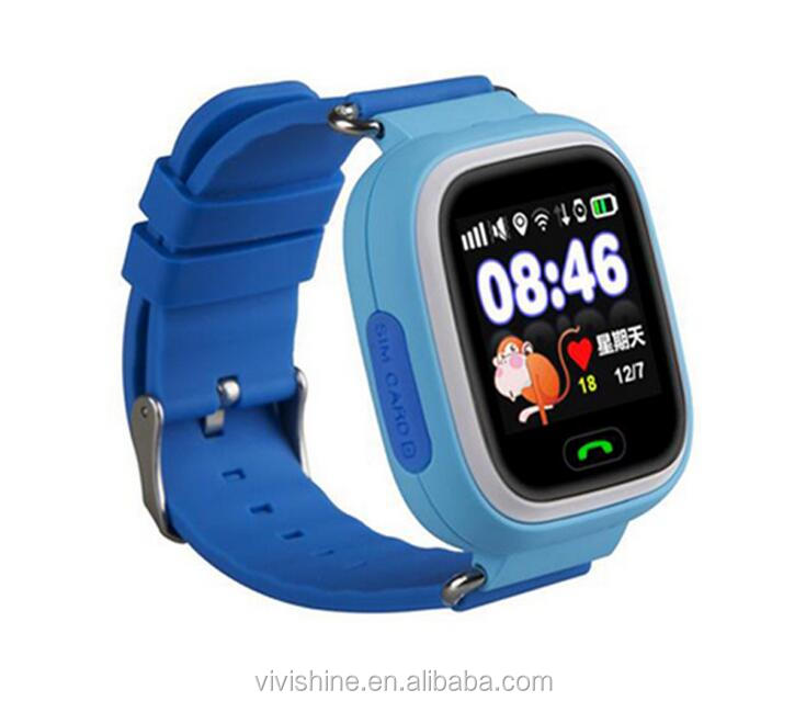 Kids smart watch Q50 Q60 Q90 Kids Safe GSM GPS child locator watch