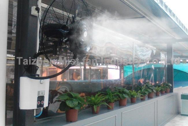 26inch Wall Mounted Industrial Water Mist Fan With 100