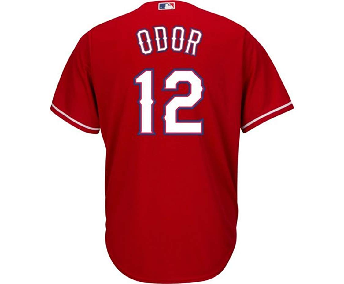 68801b099 Get Quotations · Outerstuff Rougned Odor Texas Rangers Red Youth Cool Base  Alternate Replica Jersey