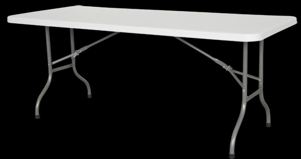 6 Feet Long Center Folding Banquet Bbq Camping Outdoor Plastic Folding Table    Buy Plastic Long Table,Small Folding Camping Tables,Folding Plastic  Outdoor ...