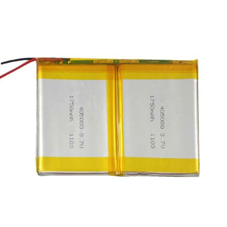 1S2P 405080 Rechargeable Battery 3.7V 1700mAh for GPS Navigation