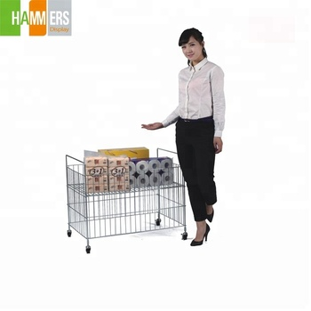 Foldable Square Metal Wire Mesh Retail