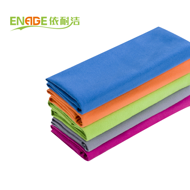 Large Microfiber Compact Absorbent Antibacterial Fast Dry Sports Towel With Lightweight