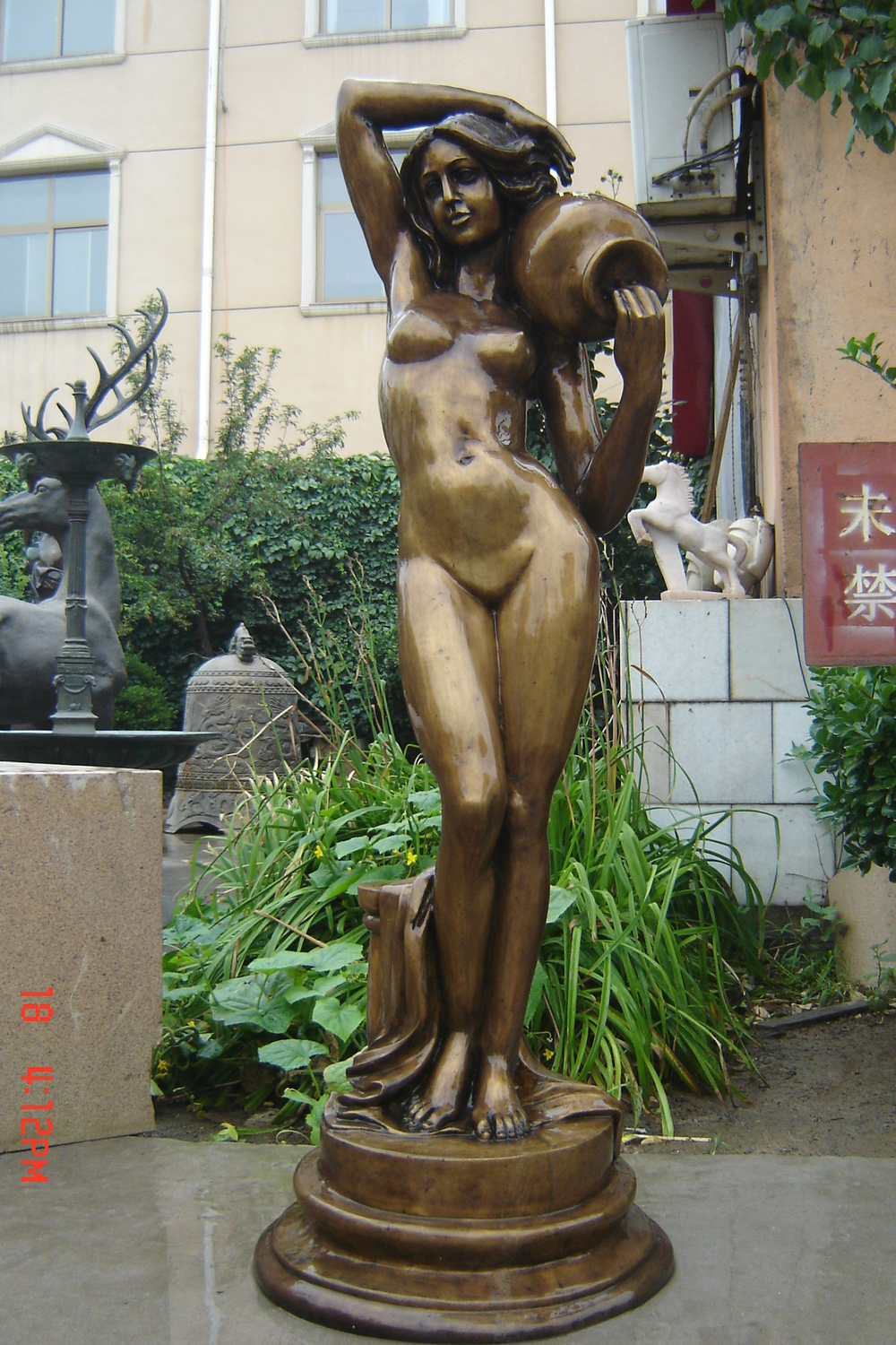 Best Fountain Nude Woman Pictures