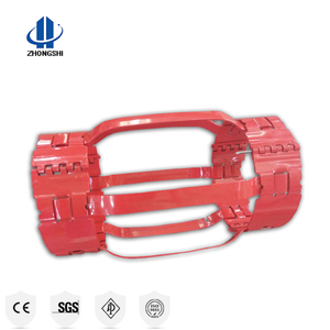 API dual bow spring type centralizer and casing centralizer or tubing centralizer for downhole pipe in oil field