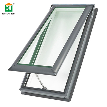 Aluminum Alloy Triple Top Hung Glazed Fixed Skyview ...