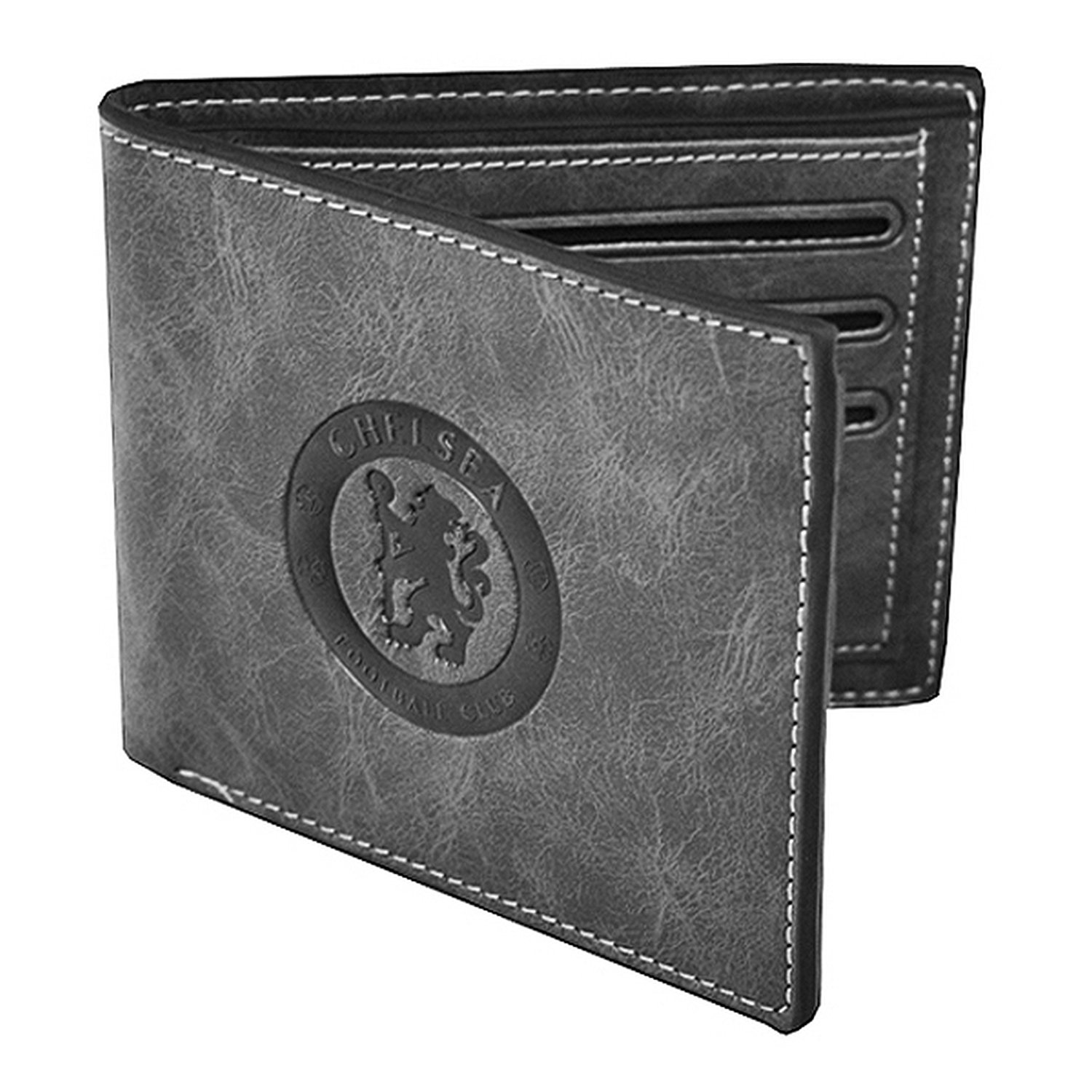 Chelsea FC Official Leather Suede Football Crest Wallet