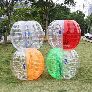 Promotion 0.8MM PVC/TPU Inflatable bumper bubble soccer ball for football sport games